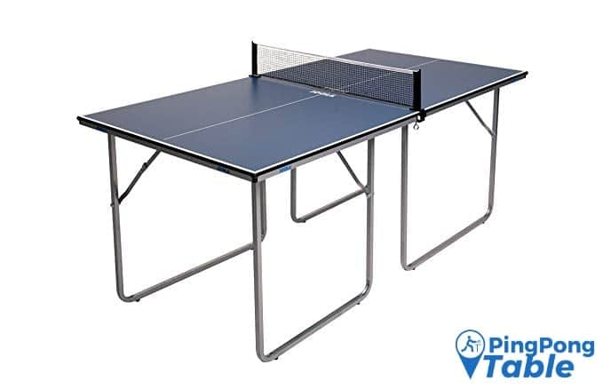 JOOLA Midsize Compact Ping Pong Table Great for Small Spaces and Apartments