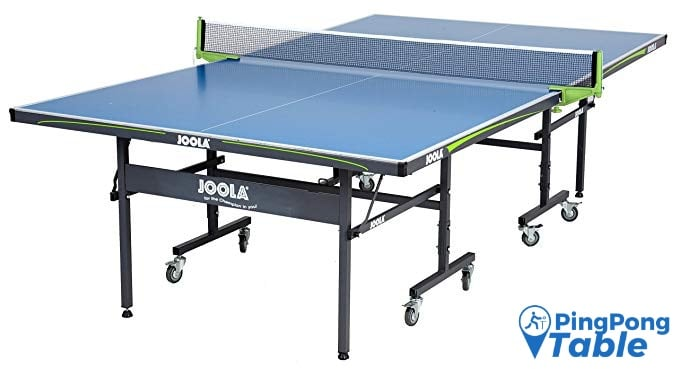 JOOLA Rally Outdoor Ping Pong Table with Waterproof Net Set