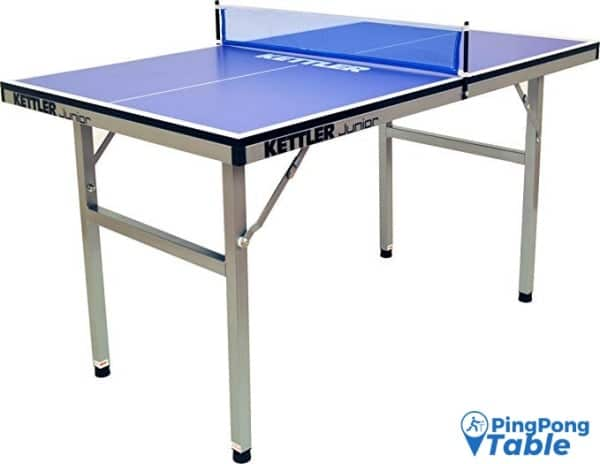 Kettler Junior Mid-Sized Collapsible Indoor Ping Pong Table