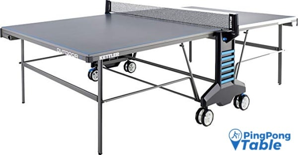 Kettler Outdoor 4 Weatherproof Ping Pong Table